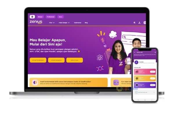 fitur ZenCore via aplikasi Zenius