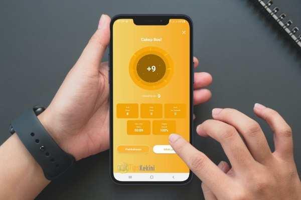 Score pada fitur ZenCore aplikasi Zenius
